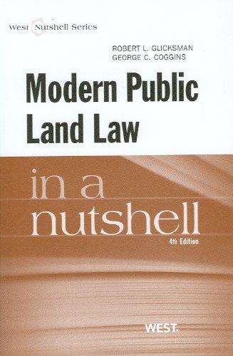 Modern Public Land Law in a Nutshell (Nutshells)