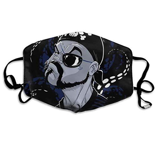 Halloween Fashion Mask Sabatoncruise verstelbare oorschelp gezichtsmasker stofmasker anti-pollen masker