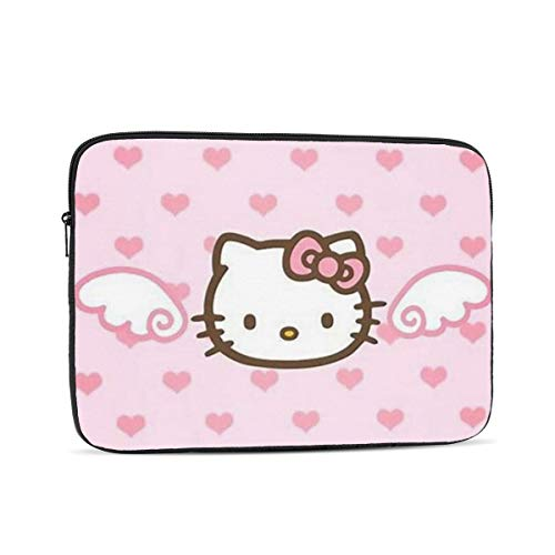 Laptop Sleeve Case- Multi Size Angel Hello Kitty Notebook Computer Protective Bag Tablet Briefcase Carrying Bag,12 Inch