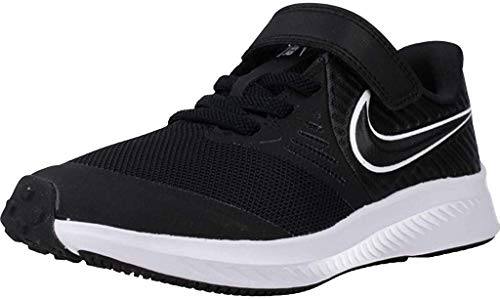 Nike Laufschuhe Jungen, Farbe Schwarz, Marke, Modell Laufschuhe Jungen Star Runner 2 (PSV) Schwarz