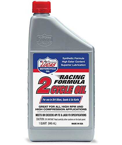 Racing Formula Synthetic 2-Cycle Oil/6x1/Quart