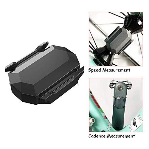 Linghuang snelheidssensor, draadloos, ondersteuning Bluetooth 4.0 Ant+, voor fiets, GPS, voor iPhone, Android, fietscomputer, IP67 waterdicht