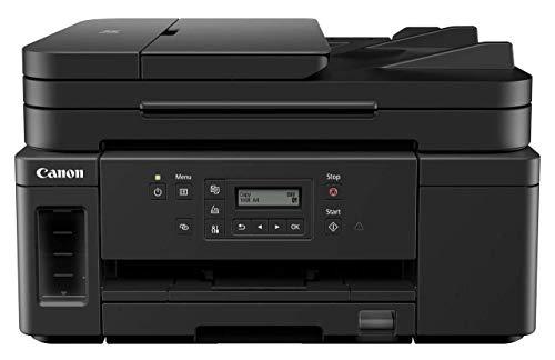 Canon PIXMA GM4050 MegaTank Drucker nachfüllbar Tintenstrahl S/W Multifunktionsgerät DIN A4 (schwarzweiß Drucker, Scanner,Kopierer, WLAN, USB, LAN, Duplex, gr. Tank, niedrige Kosten/Seite) schwarz