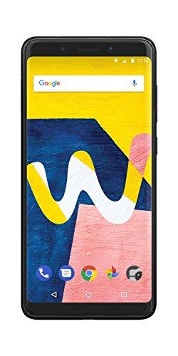 Wiko View lite Smartphone (13,8 cm (5,45 Zoll) Bildschirm, 16GB interner Speicher, Android 8.1 Oreo) anthrazit