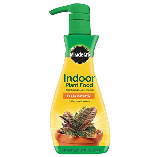 Miracle-Gro VB300526 Plant Food (Liquid), 8 oz, Feeds All Indoor Houseplants-Including Edibles-Instantly, 1 Pack (2 count)