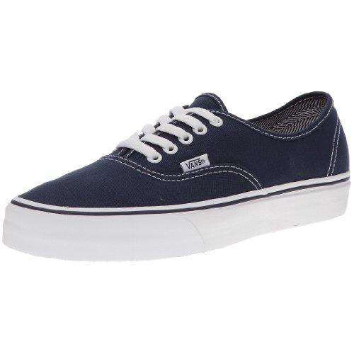 Vans AUTHENTIC VEE3 Unisex-Erwachsene Sneakers, schwarz/Weiß, EU 39