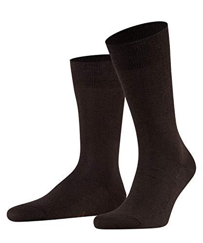 FALKE Herren Socken, Family M SO- 14645, Braun (Dark Brown 5450), 43-46