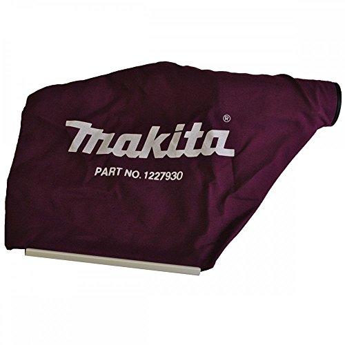 Makita–Bolsa de polvo (Tejido Makita 122793–0para rabots Makita KP0800, KP0810, Kp0810C, KP0810K y KP0810CK
