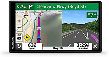"""Garmin DriveSmart 55 & Traffic: GPS navigator with a 5.5"""" display, hands-free calling, included traffic alerts and information to enrich road trips"""