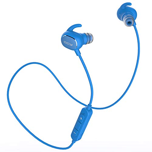QCY QY19 Bluetooth イヤホン aptX 高音質コーデック対応 IP64 防塵防水 ノイズキャンセリング ブルートゥ...