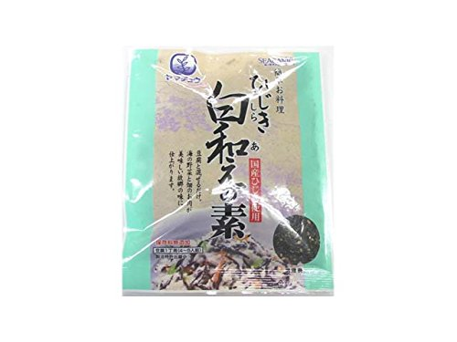 国産原料 厳選素材使用 ひじき白和えの素 (お豆腐1丁用 3パック)