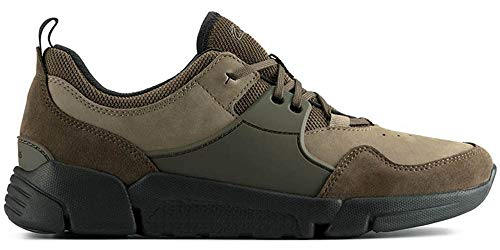 Clarks TriActive Lace Dark Olive Comb (Numeric_44_Point_5)