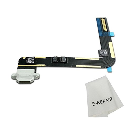 Charging Port Connector Dock Flex Cable Replacment for Ipad Air (White)