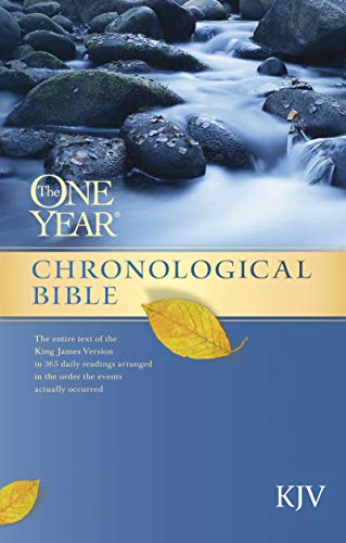 The One Year Chronological Bible KJV (English Edition)