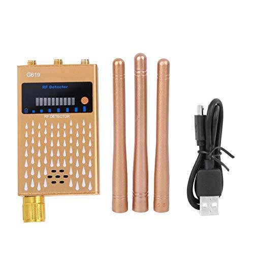 DAUERHAFT Genaue Lange Lebensdauer Robuster Handy-Detektor Ortungsdetektor Hochempfindliche GPS-Handy-Detektionsgeräte