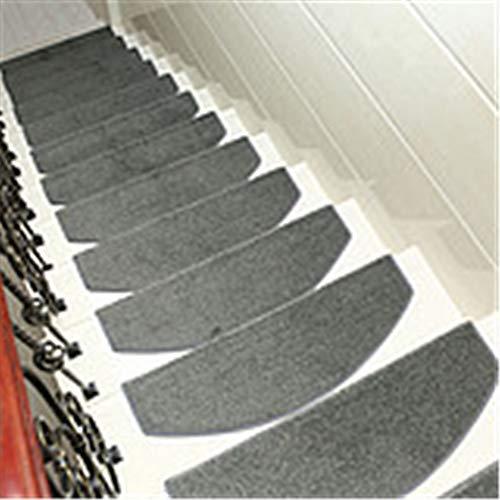 13 stuks trapmatten antislip volledig laden vrije lijm zelfklevende mat huishoudhouttrap Carpet hoge dichtheid duurzaam 24 cm x 65 cm