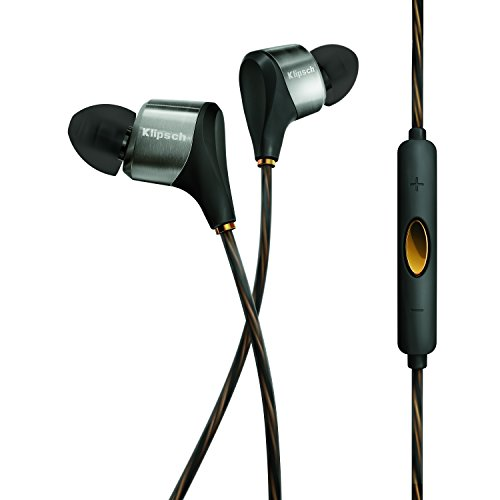 Klipsch 1062168 XR8i In-Ear Hybrid Kopfhörer schwarz