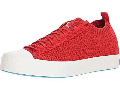 Native Shoes Jefferson 2.0 Liteknit Torch Red/Shell White Men's 3, Women's 5