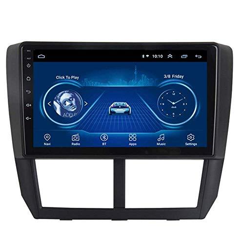 Android 8.1 - Radio de navegación GPS para Subaru Forester 2008 – 2012, con DAB CD DVD control de volante, Bluetooth, USB Mirror Link, 4G + WiFi: 1 + 16G