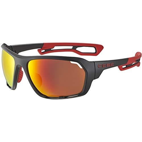 Cébé Upshift Gafas de sol Adultos unisex Matt Black Red Large