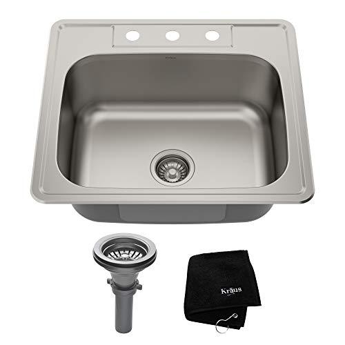 Kraus KTM25 gauge Stainless Steel Kitchen Sink