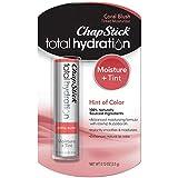 ChapStick Total Hydration Moisture + Tint Coral Blush Tinted Lip Balm Tube, Tinted Moisturizer - 0.12 Oz
