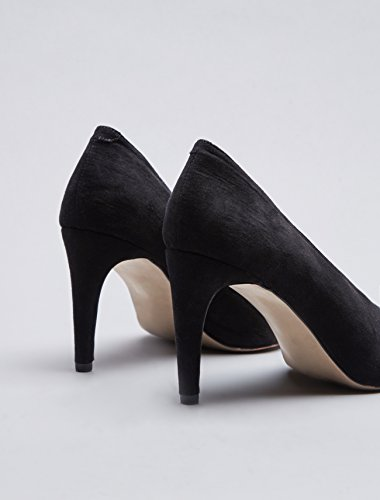 find. Women's Shoes in Court Fit with Stiletto Heel, black, 3 UK