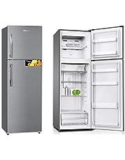 Super General 360 Liter Gross Compact Refrigerator/ Silver/ LED Lighting/ Storage Boxes/ 1670 x 550 x 600 mm/ SGR360I