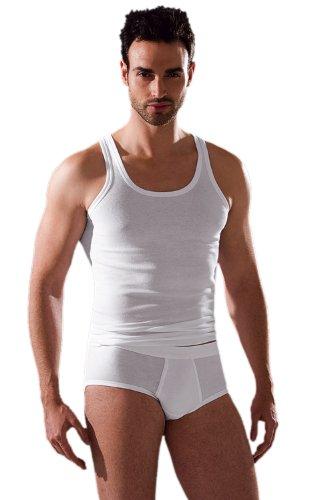 ESGE Sportjacke / Athletic-Shirt, 5er Pack, ES610, Größe 9 (3XL/58), Farbe: Weiss