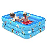 Household Outdoor Large Inflatable Swimming Pool, Thickened Durable Safe Family Large Paddling Pool For Children & Adults