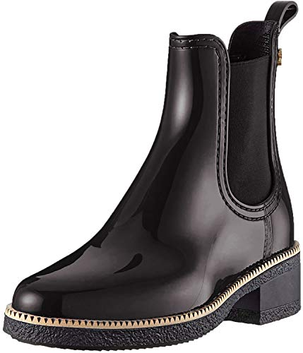 Lemon Jelly Damen AVA Chelsea Boots, Schwarz (Black 01), 41 EU