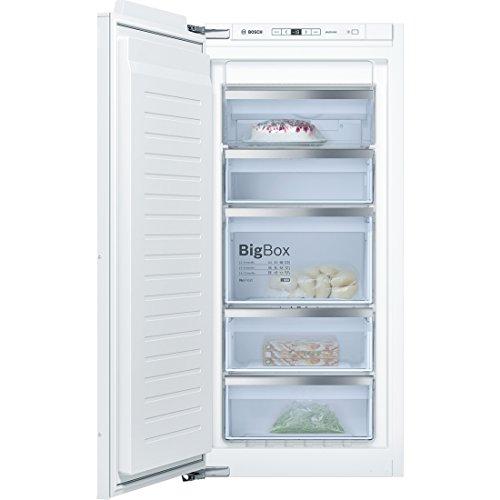 Bosch Serie 6 GIN41AC30 Integrado Vertical 127L A++ Blanco - Congelador (Vertical, 127 L, 20 kg/24h, SN-T, Sistema de descongelado, A++)