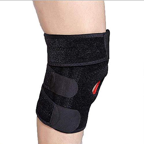 Einstellbare Brace, Beste Kneepad Unterstützung für Sport-Verletzungen Rehabilitation & Schutz gegen Wiederverletzung, Rennen, Gehen, Radfahren, Basketball