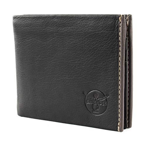 Chiemsee Geldbörse Malawi Echt Leder schwarz Herren - 020280