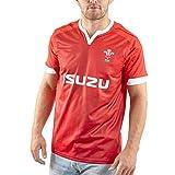 T-Shirt en Jersey De Rugby, Maillot De Rugby À Domicile du Pays De Galles 19-20, Polo D'entraînement De Match De Football Home-XXL