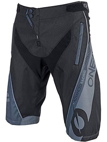 O'NEAL | Mountainbike-Hose | MTB Mountainbike DH Downhill FR Freeride | Strapazierfähiges Material, Elastischer Bund | Element FR Shorts Hybrid Youth | Kinder | Schwarz | Größe 28