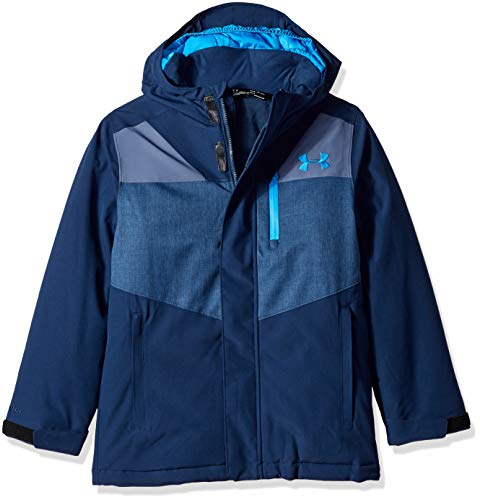 Under Armour Boys' Big Thunder Jacket, Academy, Medium (10/12)