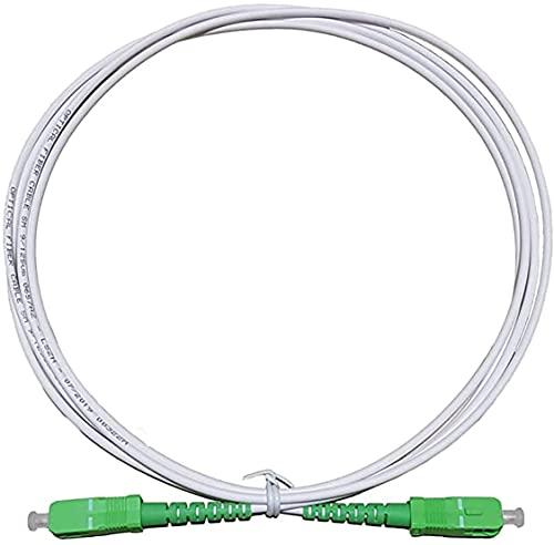 Cable de Fibra Óptica para Router-Compatible 99% Operadores Movistar Jazztel Vodafone Orange Amena Masmovil SC/APC a SC/APC...