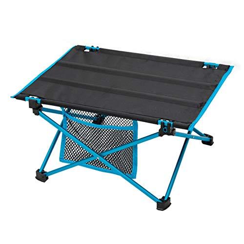 ZFW Draagbare campingtafel, geschikt voor barbecue-picknickbed-laptops, milieuvriendelijke materialen, slijtvast en waterdicht