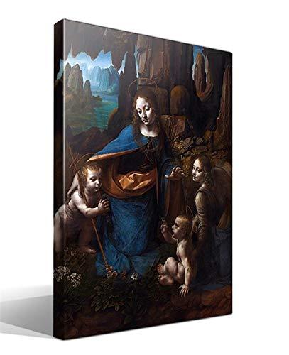 Cuadro Canvas La Virgen de Las Rocas de Leonardo Da Vinci