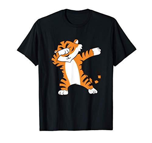 Tigre lindo Dabbing Tigre Camiseta