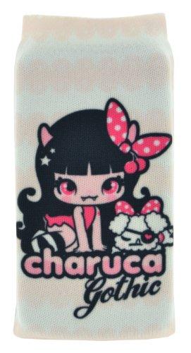 Charuca CGSTAB sokken Charuca Ghotic behang, wit