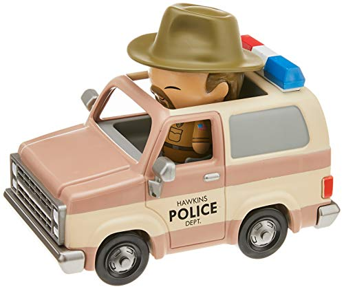Funko- Stranger Things Hopper and Sheriff Deputy Truck Figur