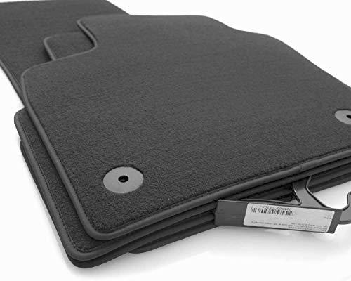 kh Teile Fußmatten A3 S3 RS3 8P Velours Autoteppich Original Premium Qualität anthrazit 4-teilig