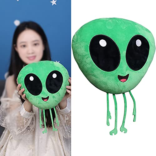 13 Inches Large Size Green Alien Plush Doll Soft and Smooth Alien Stuffed Animal Plush Creative...