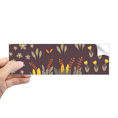 DIYthinker Mung Bonen Bloem Plant Verf Rechthoek Bumper Sticker Notebook Window Decal