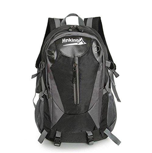 Grand Outdoor - Capacité Alpinisme Sac épaule Voyage étanche Sac de sport Sac à dos étudiant , black