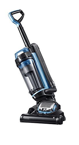 Black+Decker Ultra Light Weight, Lite Black & Decker BDASL202 AIRSWIVEL Lightweight, Powerful Upright Vacuum Cleaner, Blue
