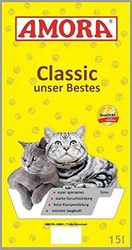 Amora Katze Amora Katzenstreu Classic unser Bestes 15l