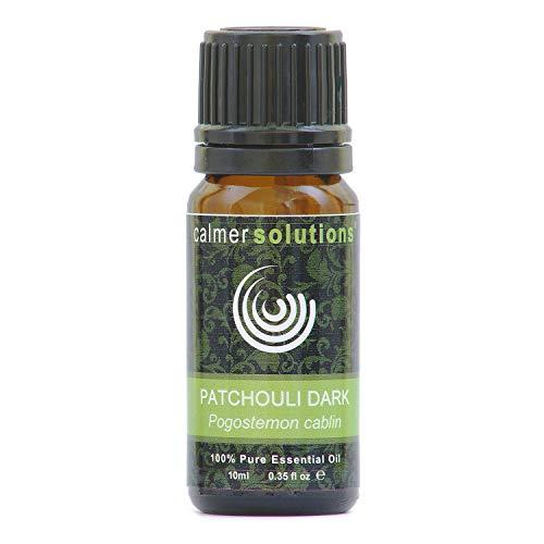 Calmer Solutions Patchouli Dark 100% Essential Aromatherapy Oil 10ml
